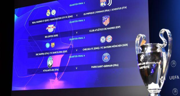 Champions League: Bayern Munich await Barcelona or Napoli in quarterfinals