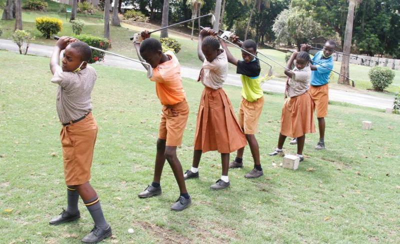 Why teaching golf in schools will create champions in Magical Kenya Open