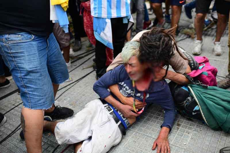 Tears flow for Maradona, man who stood for 'nobodies'