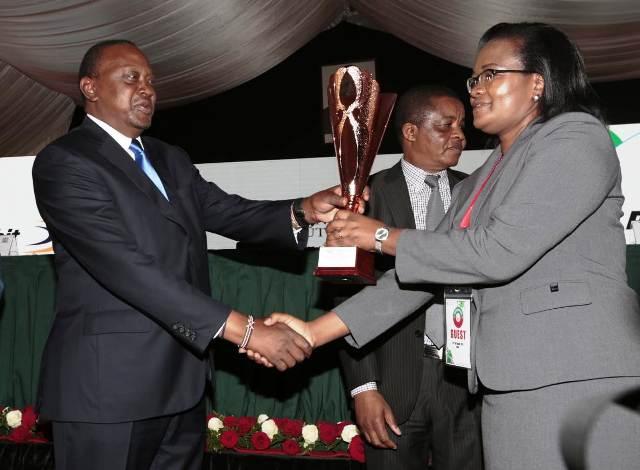 Dalbit Petroleum receives prestigious award from KRA