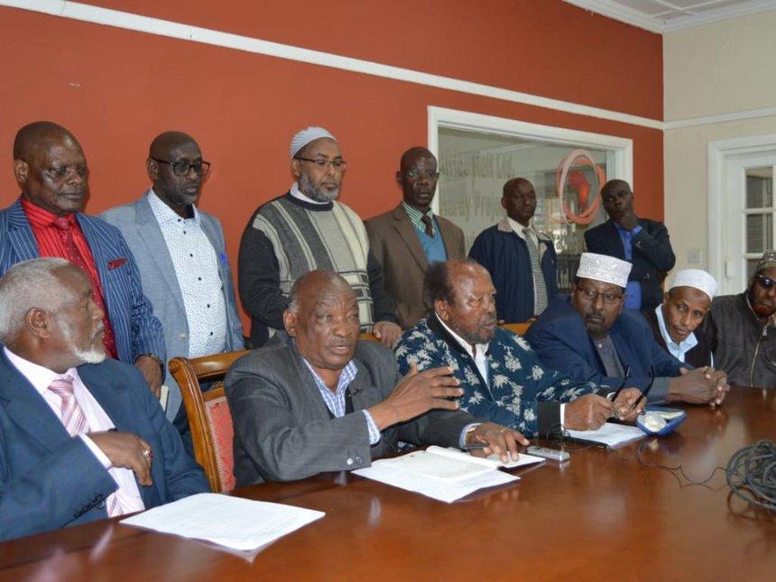 Elders Association of Kenya urge politicians to embrace unity