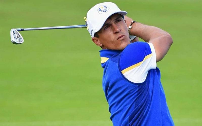 Golf star Olesen arrested on suspicion of airplane 'sex assault'