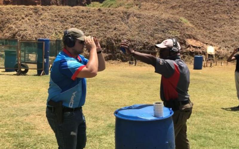 IDPA Africa Champ Van der Bank shares his secrets to success
