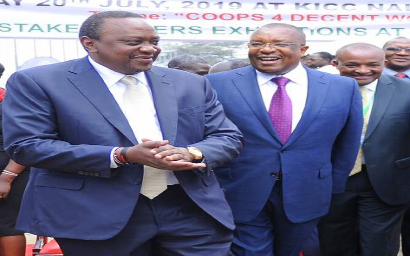 Photo: Uhuru attends Ushirika Day celebrations
