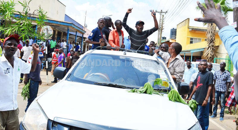 Protest against Ngilu turns ugly as rival groups clash