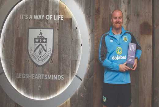 Sean Dyche beats Mourinho, Guardiola to Manager of the Month award