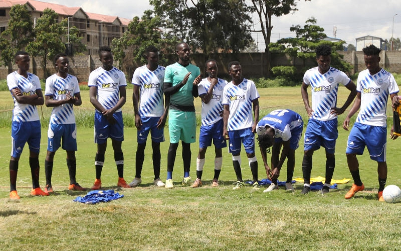 Sofapaka unveil new players as league action resumes