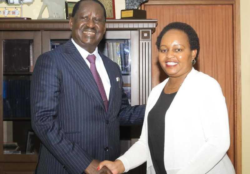 Uhuru's hand in Raila-Waiguru patch up
