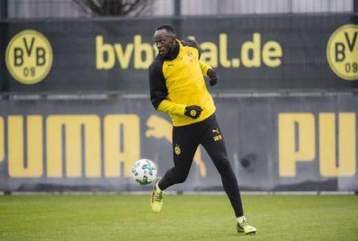 Usain Bolt's big chance as he trains with Borussia Dortmund