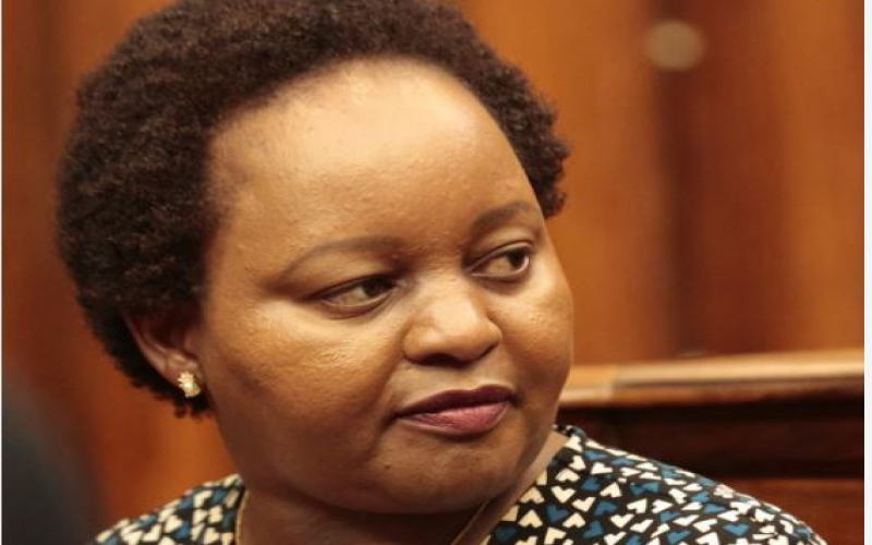 Waiguru: I wasn't given my position on a silver platter