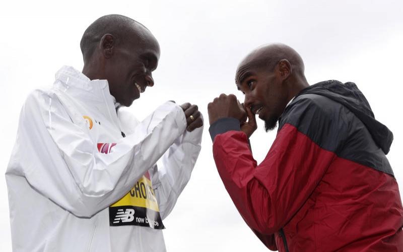 Will Kipchoge win fourth London Marathon title?