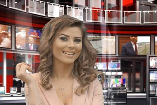 Albanian newsreaders strip down to boost audience - The
