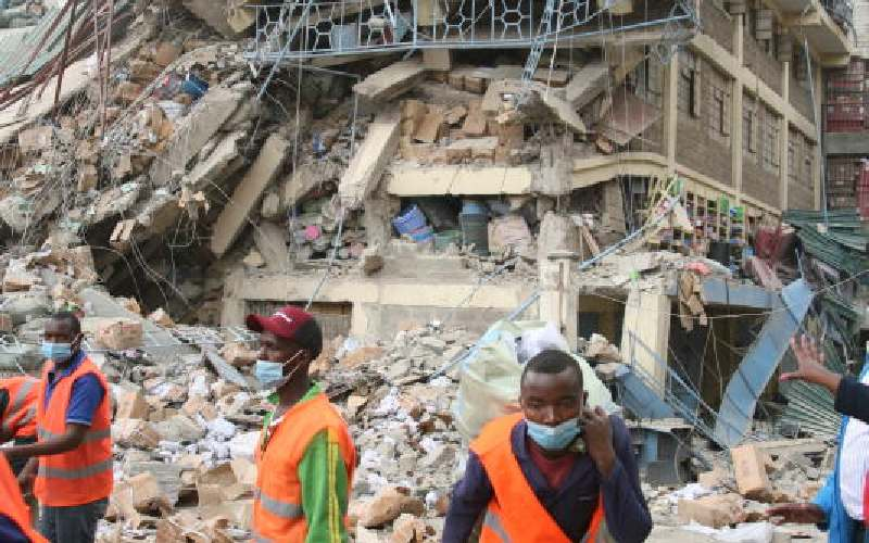 To stop collapse of buildings, give NCA teeth to bite