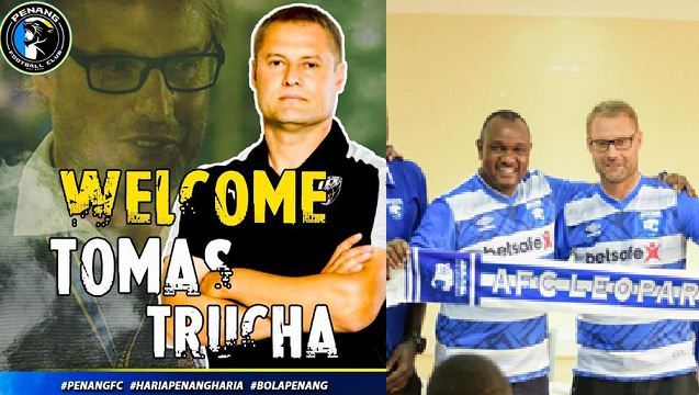 Tomas Trucha unveiled at Malaysian club hours after quitting AFC Leopards job