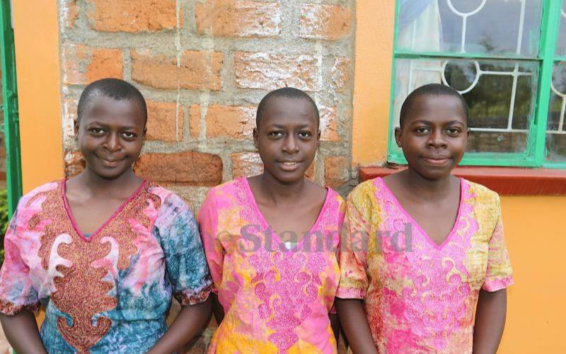 Triplets want to join different schools after KCPE exploits