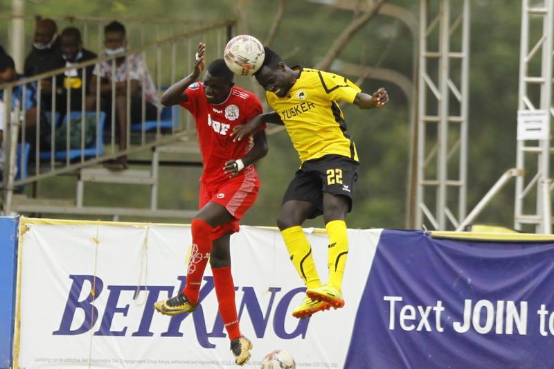 Tusker bounce back to winning ways after beating Ulinzi Stars