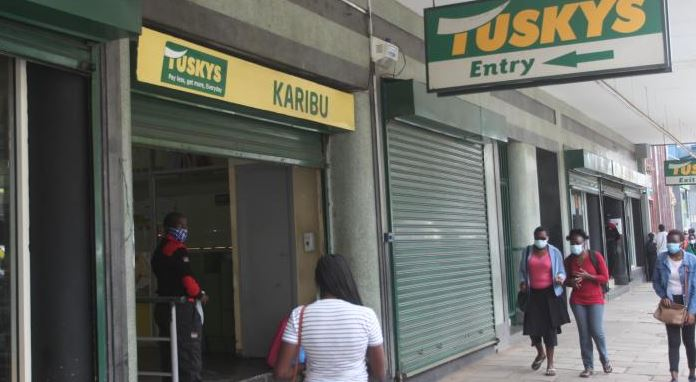Tuskys property faces auction