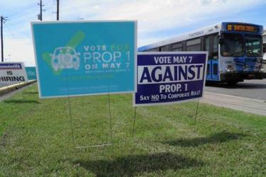 Uber, Lyft spend big to erase fingerprinting in Texas vote