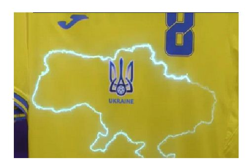 UEFA tells Ukraine to remove 'political' slogan from kit ahead of Euros