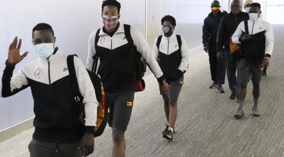 Uganda team coach arriving in Tokyo had Delta coronavirus variant