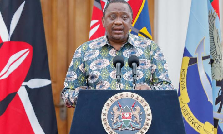 Uhuru in search of new Auditor General