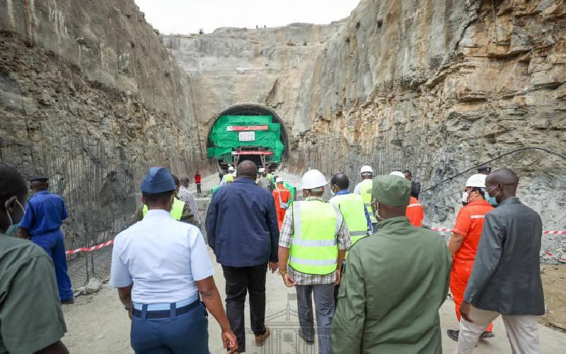 Uhuru's hope for food secure region lies in Thwake Dam