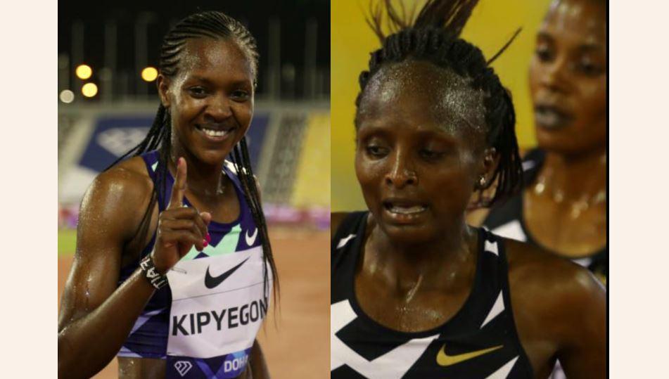 UNSTOPPABLE: Faith Kipyegon, Hellen Obiri make history in Doha