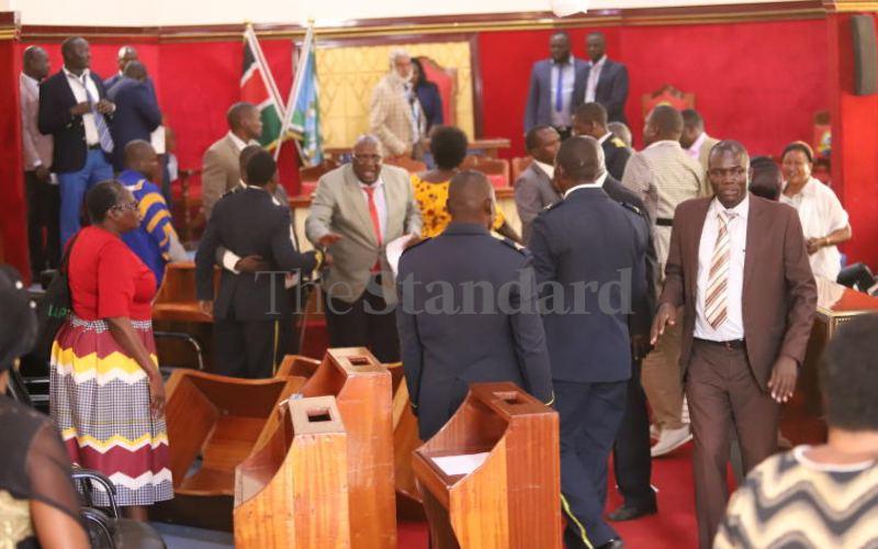 Uproar as Kisumu MCAs make another bonding trip to Tanzania