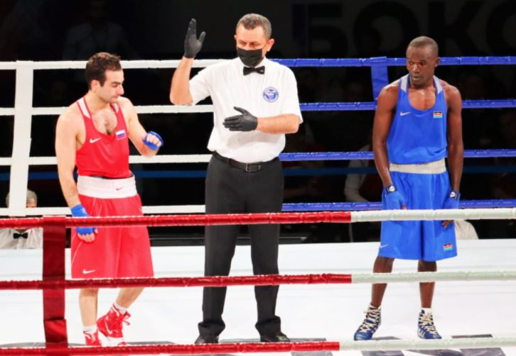 Kenya's Nick Okoth and Elly Ajowi bow out of Russian boxing tournament : The standard Sports