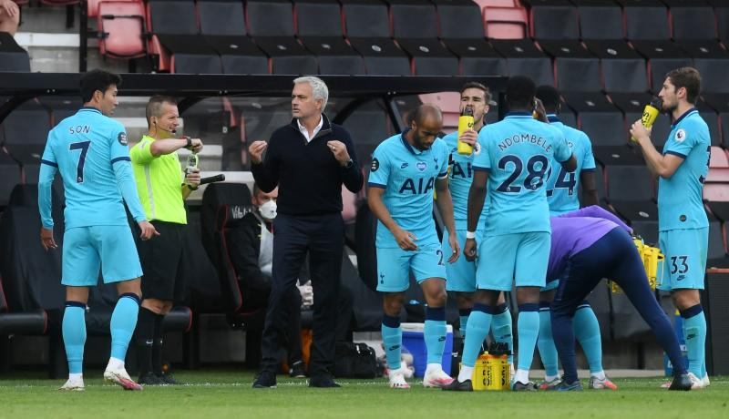 VAR denies Mourinho late goal in dreary draw with Spurs