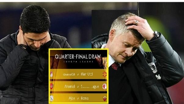 View Europa League quarter-finals and semi-finals draw results