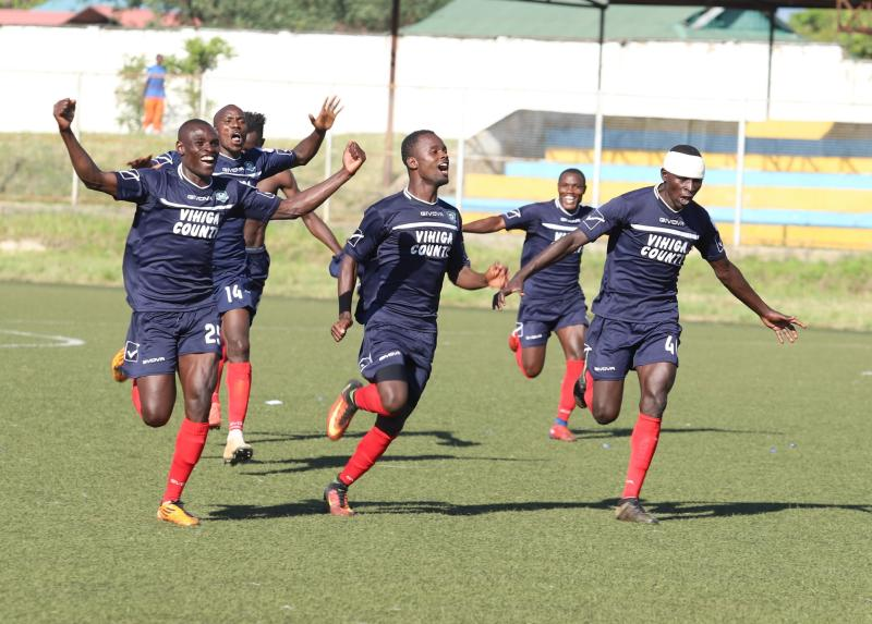 Vihiga United heartbreak KCB to get out of the bottom table