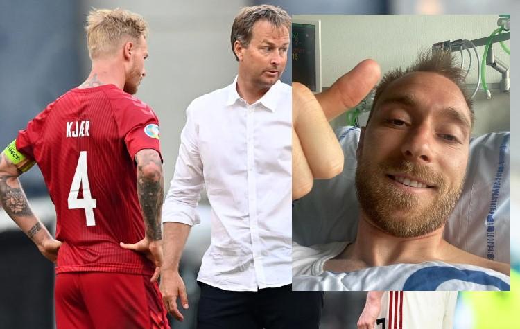 We'll beat Russians for Eriksen, says Denmark coach Hjulmand