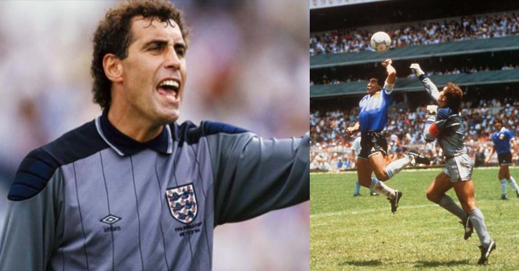 Why former England goalkeeper is still annoyed with Maradona