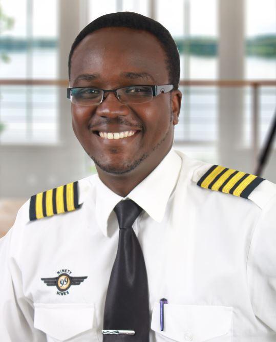 Why I became a motivational speaker: young pilot opens up