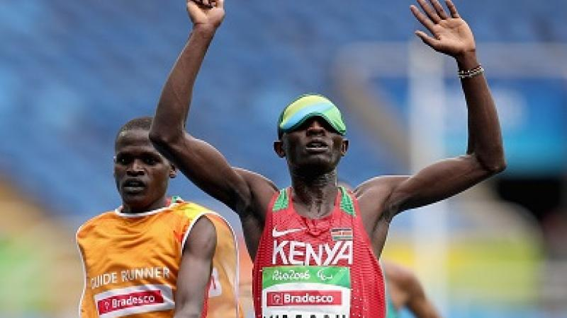 Why Kenyan athletic stars are classified as T11 or T46 in para