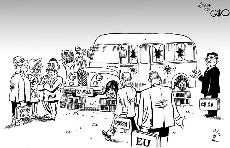 Zambia and its suitors