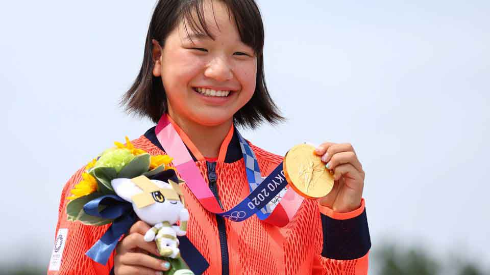 13-year-old shocks the world, scoops gold in Tokyo Olympic Games