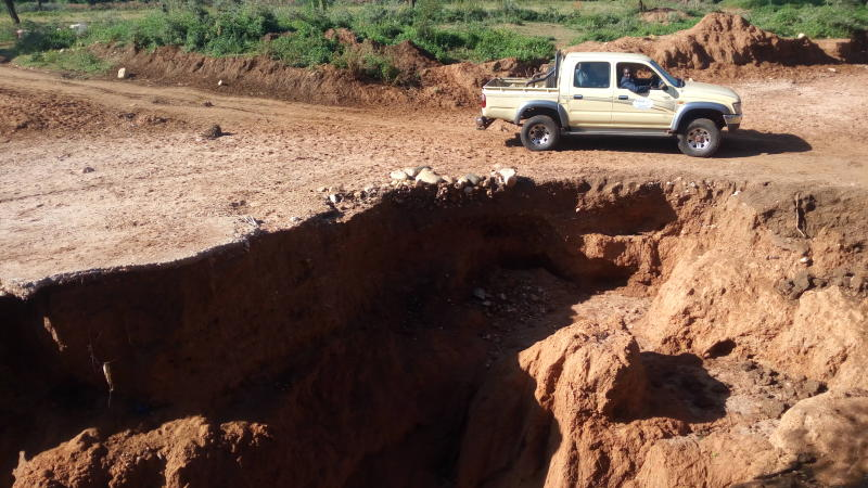33 years without road, West Pokot residents raise funds for construction