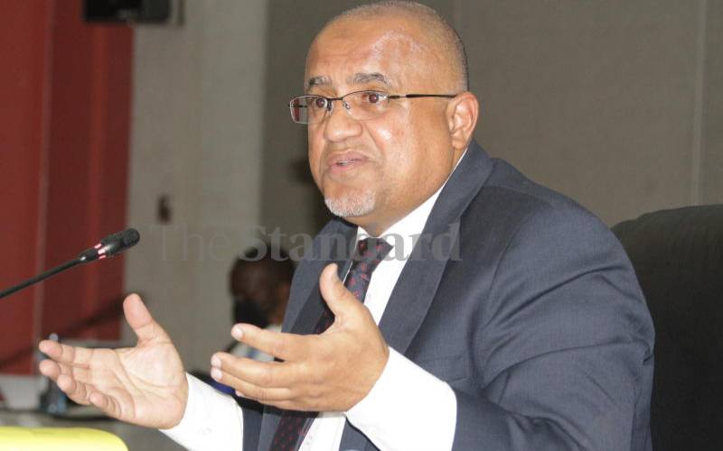 Abdalla admits he has specific attraction for polls commission