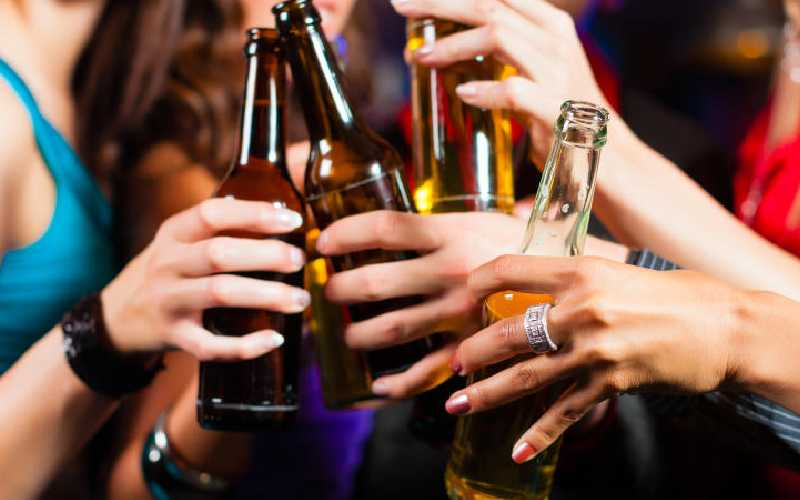 Advise to women by WHO on not to drink alcohol was in bad taste