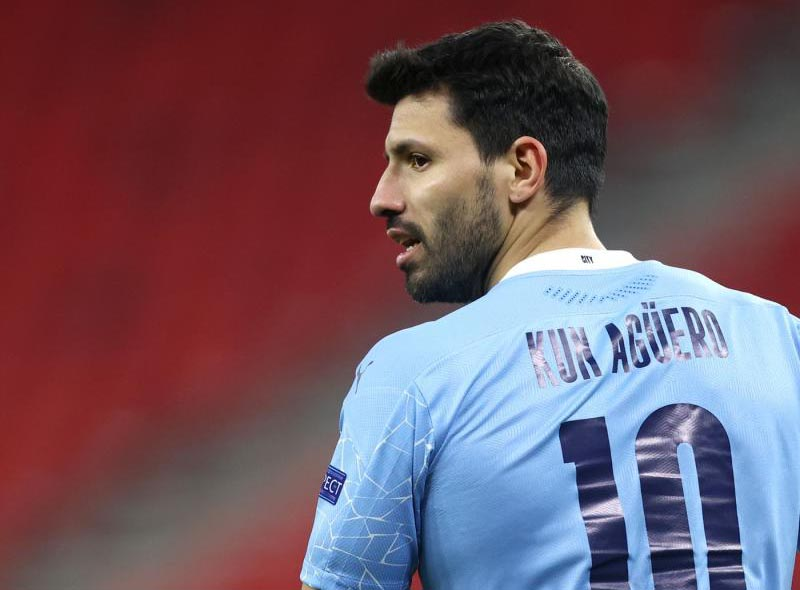 Aguero 'unhappy' with Guardiola over way Man City exit handled