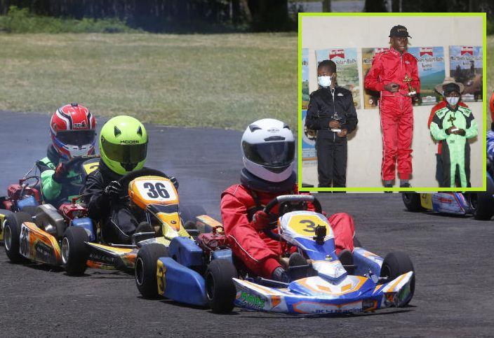 Alobo conquers opponents in the ninth and tenth rounds of G-Karting Championships