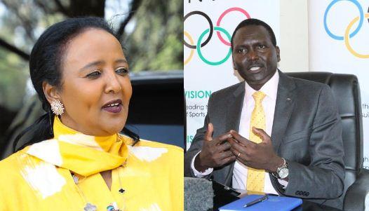 Amina: Repeated falsehoods will not help war on drug cheats