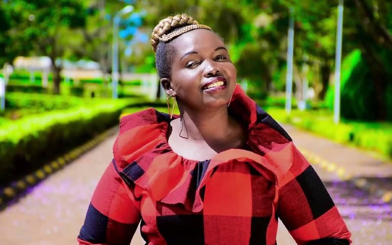 Artiste, 'Marakwet Daughter', cheats death in road crash
