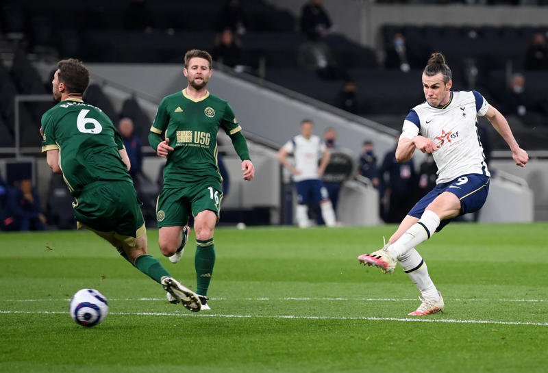 Bale hat-trick fires Spurs to 4-0 win over Sheffield Utd
