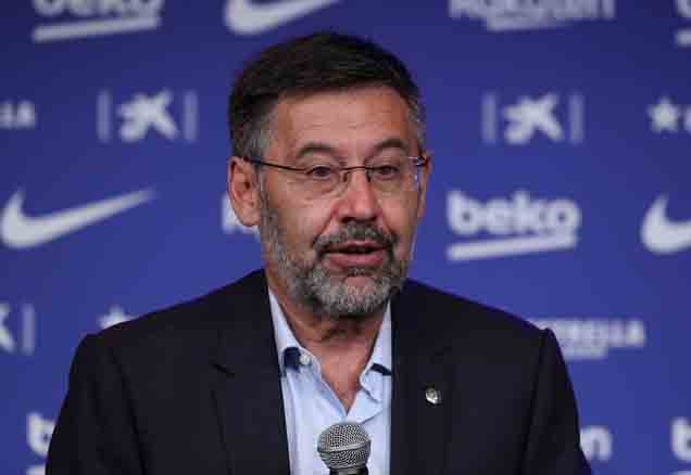 Barcelona CEO and former president Josep Maria Bartomeu arrested