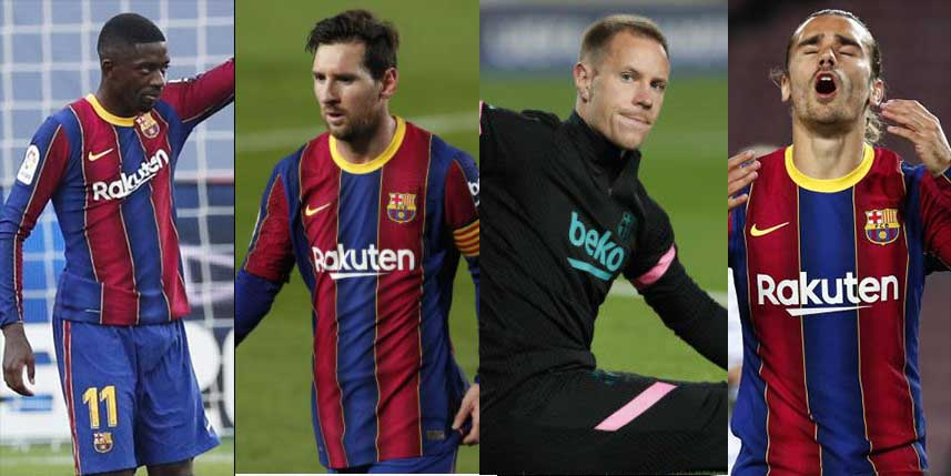Barcelona to sell FIVE big players in January to reduce staggering Sh50 billion wage bill