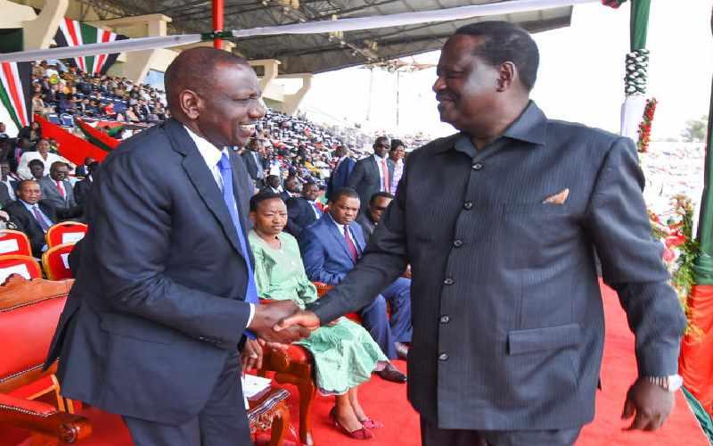 BBI is make or break for Raila, Ruto