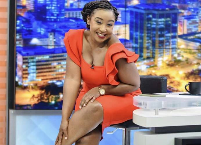 Betty Kyallo:  I don't read negative stories, comments